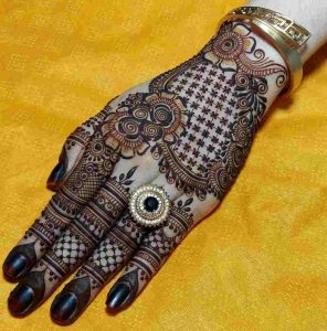 arabic mehndi designs for back hand