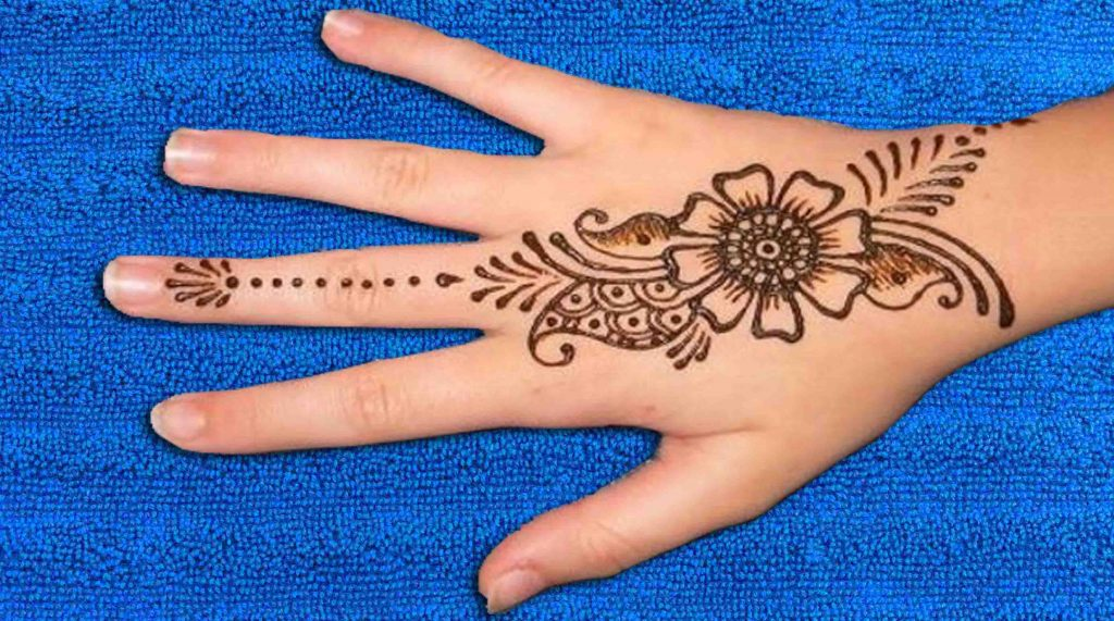 23 Very Simple Mehndi Designs That You Should Try In 2020
