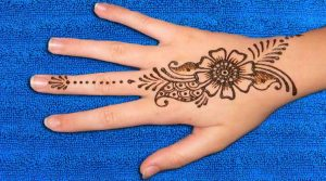 very simple mehndi designs