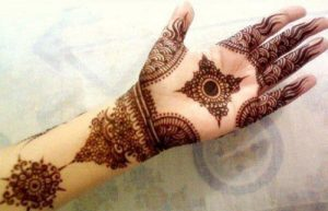 Diamond Mehandi Design