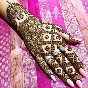 best mehndi designs for bride