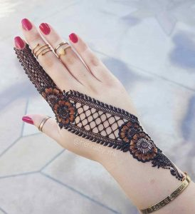 easy arabic mehndi designs for hands