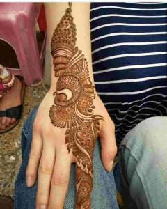 easy mehndi designs hand