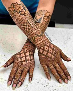 henna mehndi design for hand