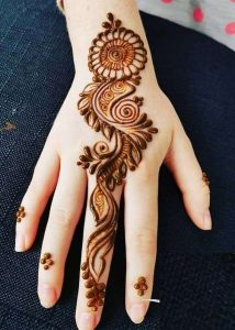 mehndi design for beginners