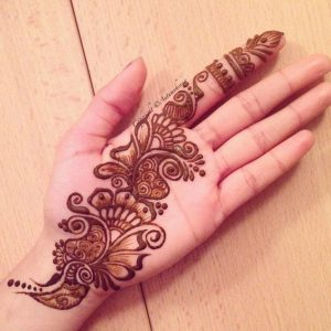 mehndi design very simple