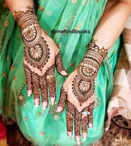 mehndi designs arabic bridal