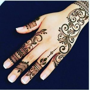 beautiful easy simple mehndi designs for hands