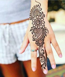 latest simple mehndi designs for hands 2020 images download