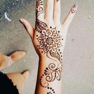 simple mehndi designs images for hands free download