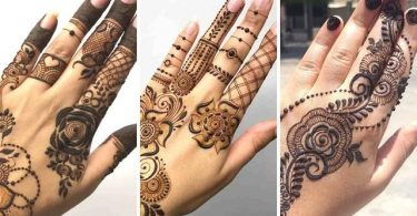 Graceful Finger Mehndi Designs Images