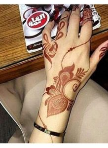 20 Super Easy Mehndi Designs For Beginners In 2020 Bemehndi,Simple Plain Saree With Designer Blouse Images